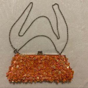 Handbags - Orange wallet purse ( shoulder bag )